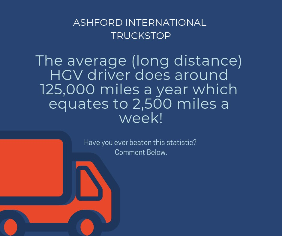 Ashford Truck Stop's photo on #FunFactFriday