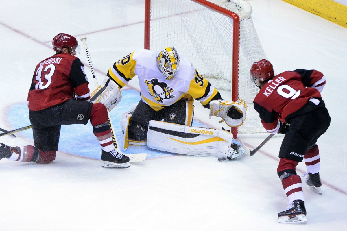 GDT:  #Coyotes look to finish two game homestand against Penguins https://t.co/uAHyp9Fka4 https://t.co/ypVT2ZvMwB