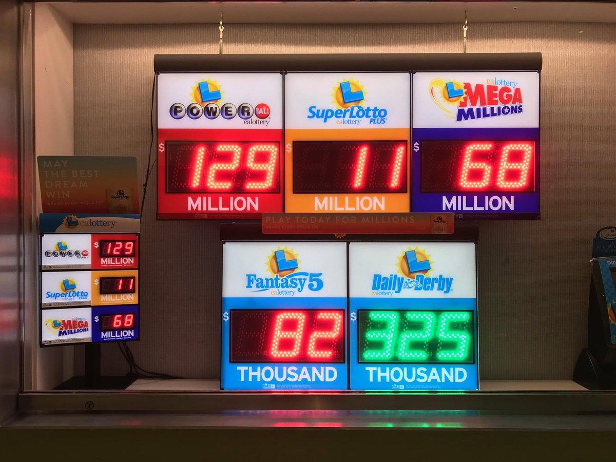 California Lottery's photo on #PowerBall