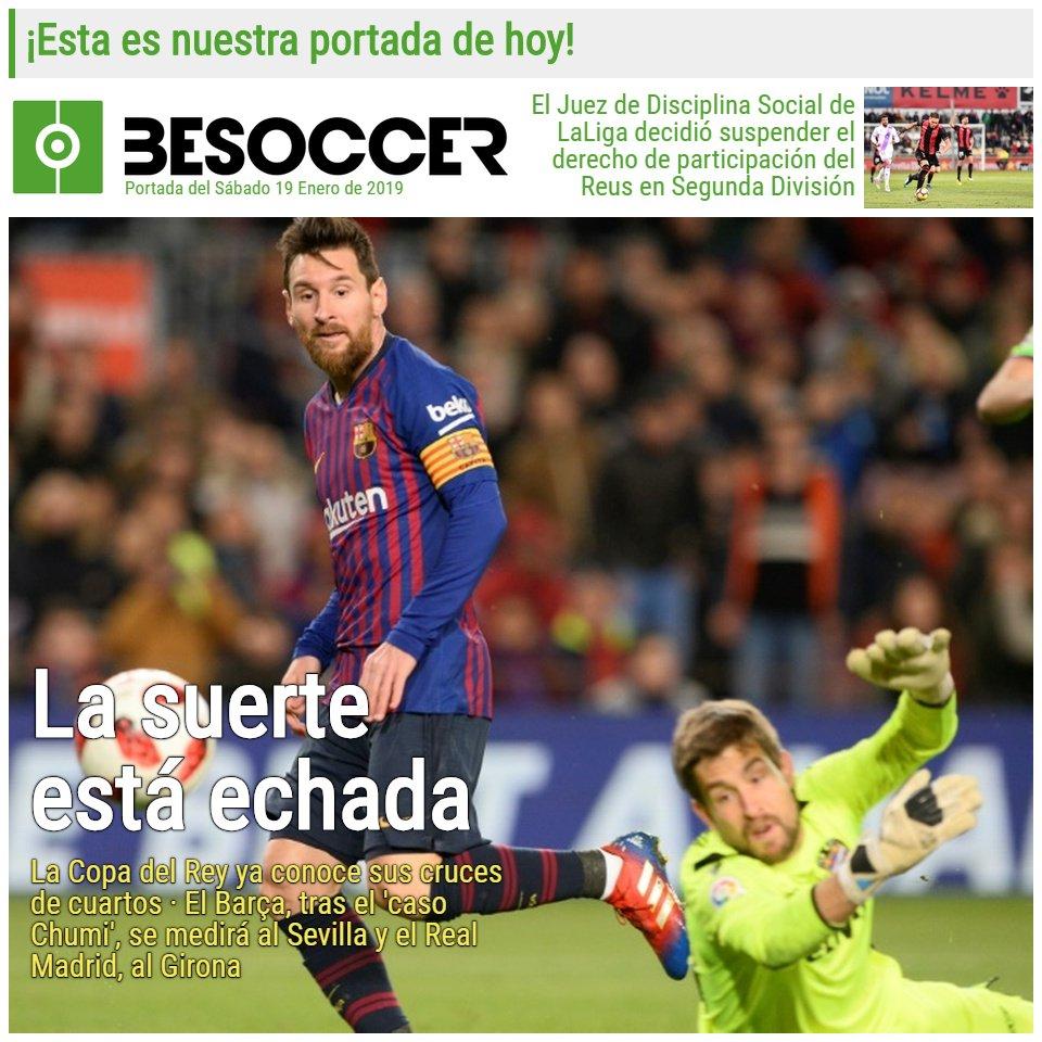 BeSoccer ES's photo on Copa del Rey