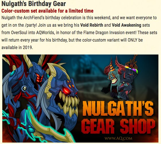 Another design notes post about Nulgath gear in the shop tonight