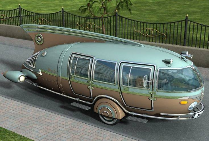 #Car Awesome of the Day: #Steampunk-ish ⚙️ #Industrial #Dymaxion Car 🚗 (1933) by Designer Buckminster Fuller via @mandyevebarnett #SamaCars