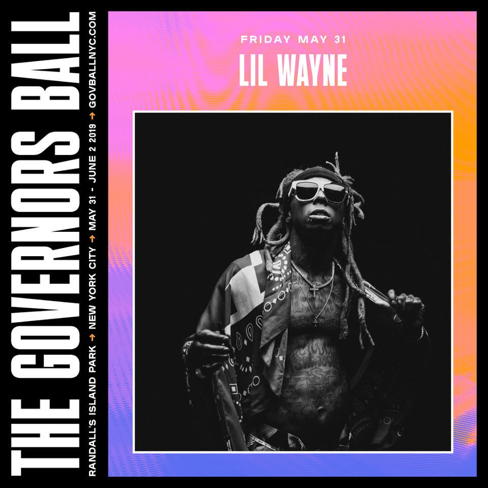 Catch THE GOAT @LilTunechi this Spring at @GovBallNYC.