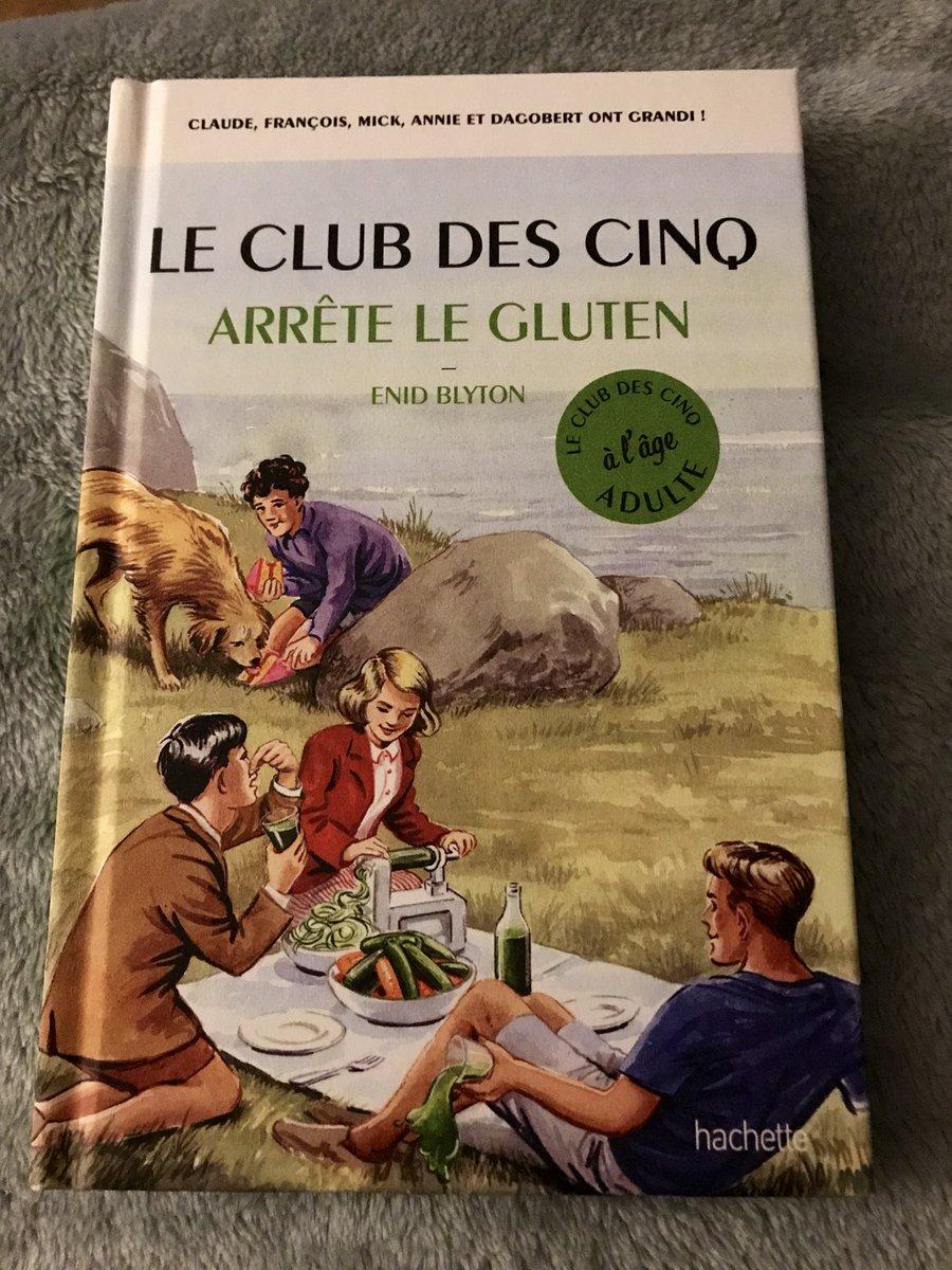 Voyons voir ce que nous réserve cette parodie du #clubdescinq @HachettePrat #VendrediLecture https://t.co/PhjP2xY1oy