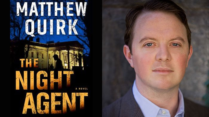 Image result for matthew quirk the night agent