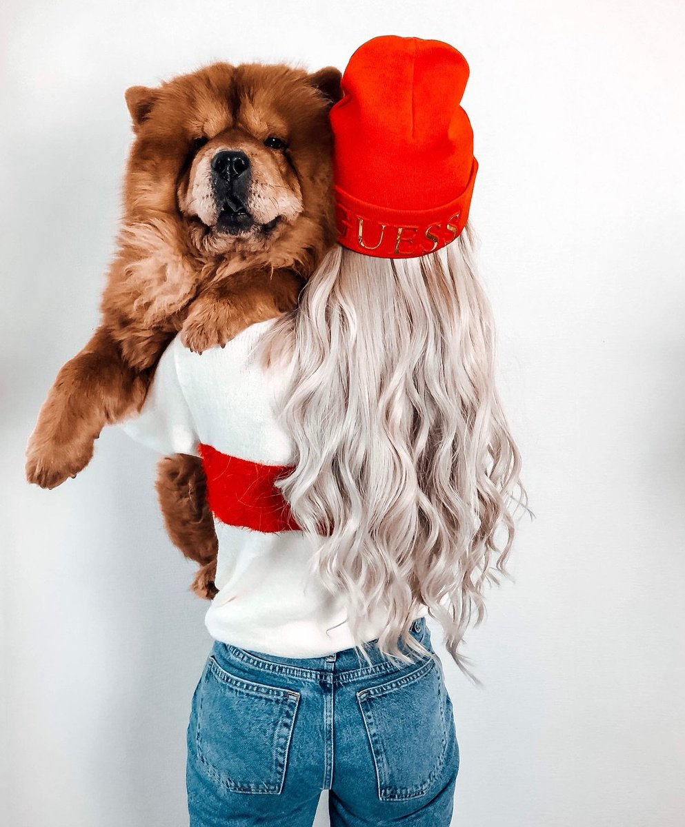 Left or right? 🔻🐶 #LoveGUESS (📷: anna_ix_)