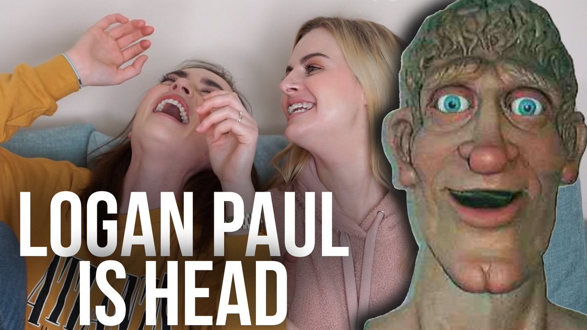 🎥 LOGAN PAUL IS HEAD ▶️ https://t.co/GkdyKH0AcQ  Ever watched Art Attack? Because it turns out Logan Paul is Head. https://t.co/40QXNwAtM7