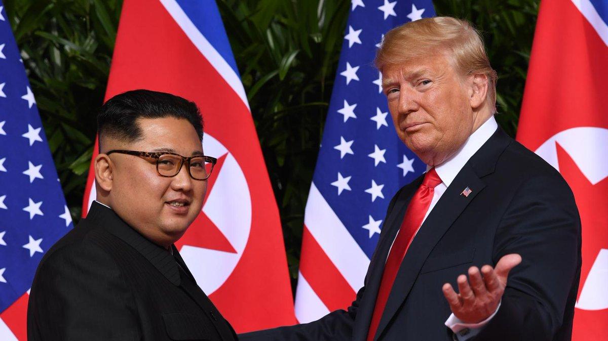Le prochain sommet entre Donald Trump et Kim Jong-un aura lieu fin février  https://t.co/GjhSeFa8ie