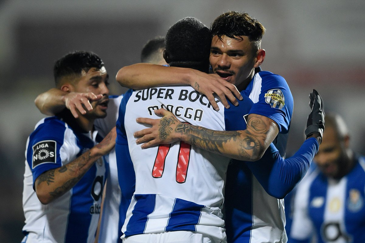 Francisco Soares scores his first hat-trick for Porto 👏👏  Back in their #UCL squad for the round of 16?
