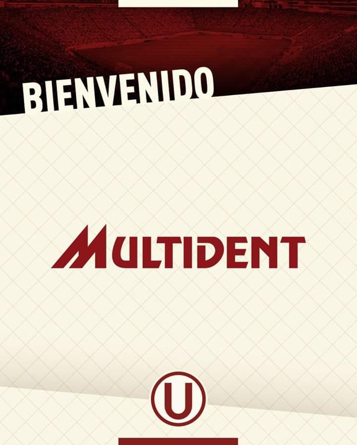 @multident es nuevo sponsor de @Universitario. La marca no irá a la camiseta, será vista en los banners. El acuerdo es por dos años. #fichajes2019 #Liga1 #YdaleU