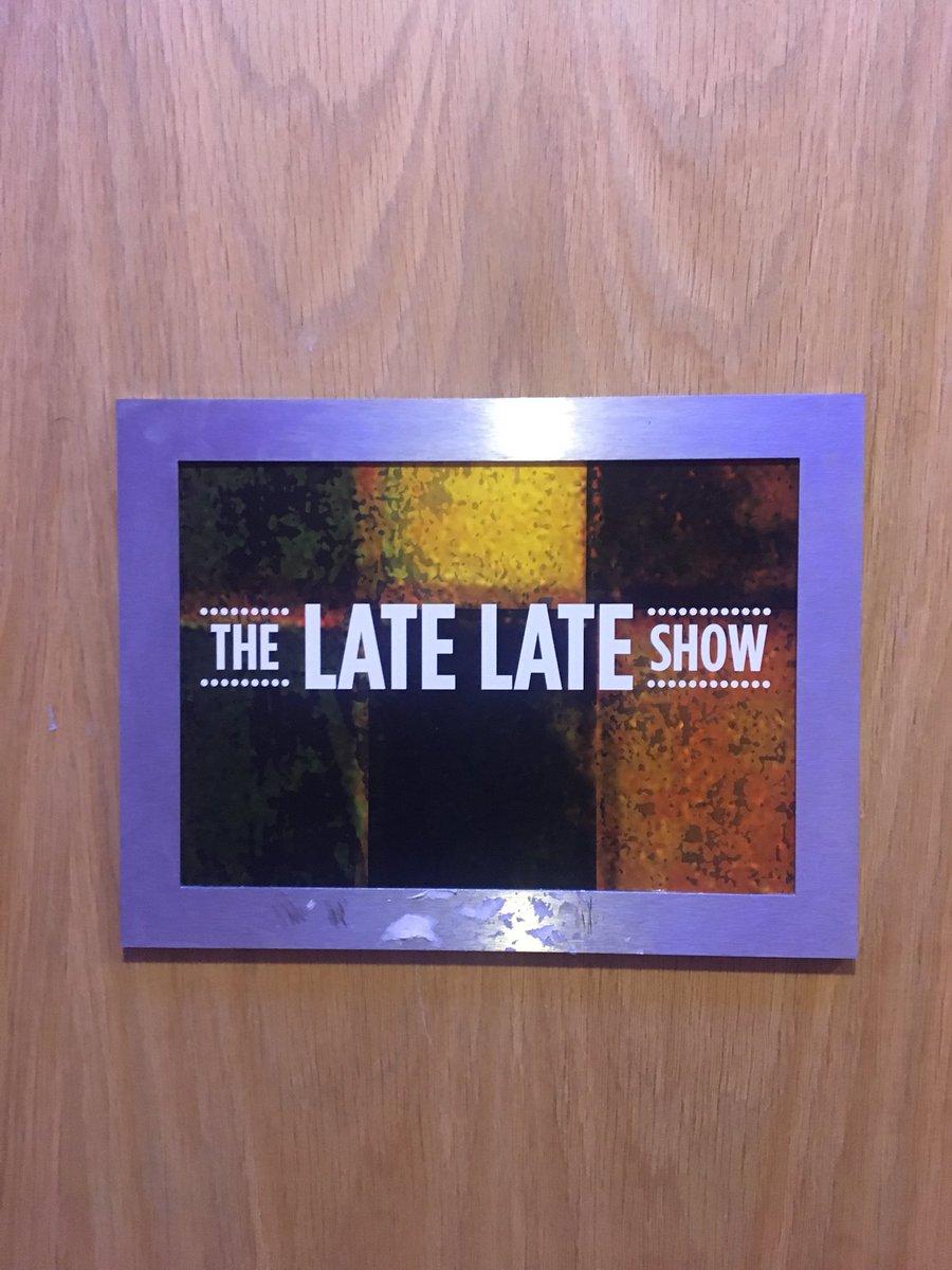 Sinead O'Doherty's photo on #LateLateShow