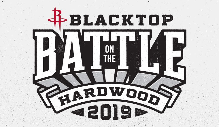 Houston's biggest 3-on-3 Basketball Tournament is back!  Blacktop Battle on the Hardwood is February 23-24, 2019 at Mi3 Center.  🚀 » http://on.nba.com/2SXuFhI