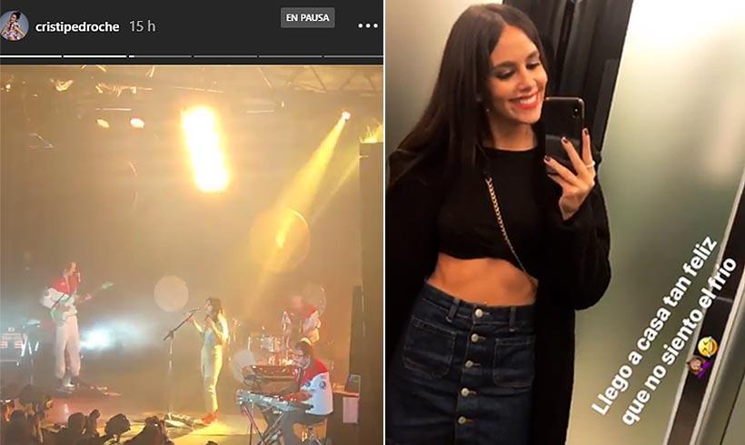 Cristina Pedroche se lo pasa en grande en el concierto de Zahara https://t.co/KY2UzdJbQ2
