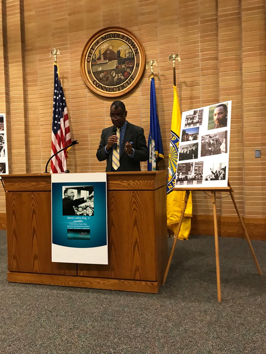 test Twitter Media - Proud to represent @wesleyan_u at MLK Initiative at City of Middletown @MayorDanDrew @MattLesser https://t.co/nbeVliuq5N