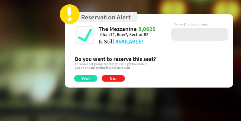 These back row tickets for the Bloxy Awards were 500 Robux last year! Now they're 8,000??!??!??!?!