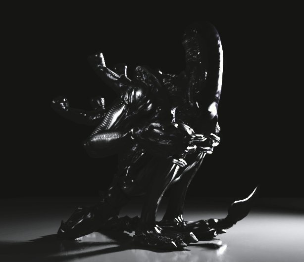 Modeled, rigged, and rendered a #xenomorph in #Blender3d <br>http://pic.twitter.com/6Fo8uK30Ee