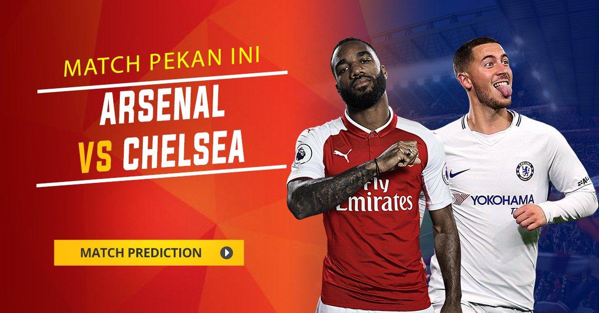 http://bit.ly/2FB31nJ - Prediksi Primer League Arsenal VS Chelsea #beritaSepakBola #beritaBola #prediksiBola #pasaranBola #Bolainfo #infobola #bola #agenBola #bandarBola #JadwalBola #JadwalBolaLigaInggris #BolaHariIni #PREVIEW #Arsenal #Chelsea #Siaranbola #JadwalLigaInggris