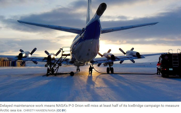 The #GovernmentShutdown has reached Earth's melting poles. IceBridge, a decadelong NASA campaign meant to secure a seamless record of ice loss, has had to sacrifice at least half of what was supposed to be its final spring deployment. @NewsfromScience http://bit.ly/2RAGHB1