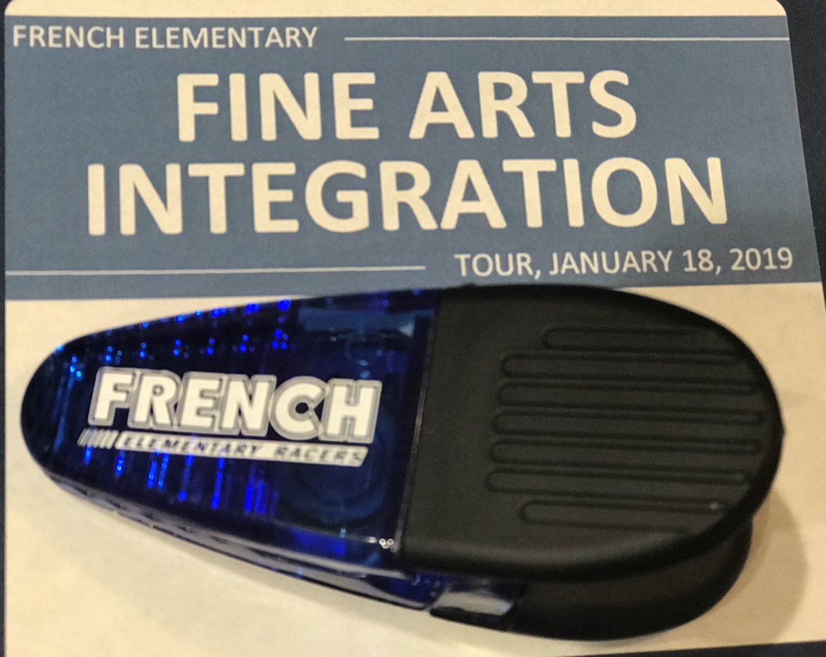 Thank you to @CaroleNMason and the staff at @FrenchKISD for hosting the fine arts integration tour today where we saw art, theater, music and movement embedded into various content area lessons👍 #WeNotMe #MomentsInKlein