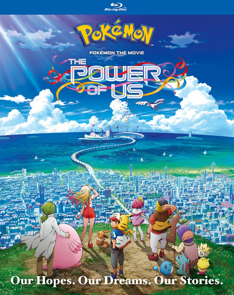 Pokémon the Movie: The Power of Us Blu-ray cover art