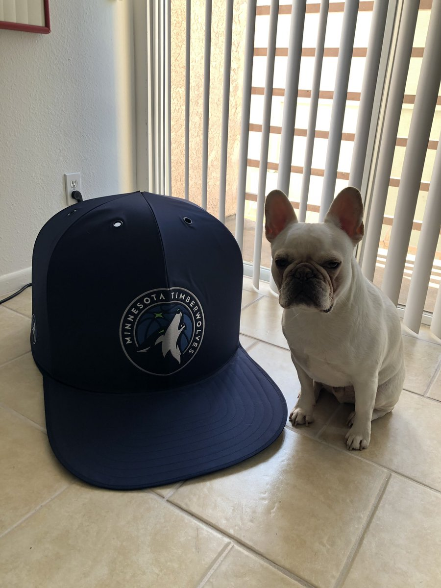 0f9a18c53 Ayyyyyyyyy shouts to @_napcap and @MGRADS for hooking Boogie up with the  @Timberwolves Nap Cap! Took him a minute to figure it out but he's with ...