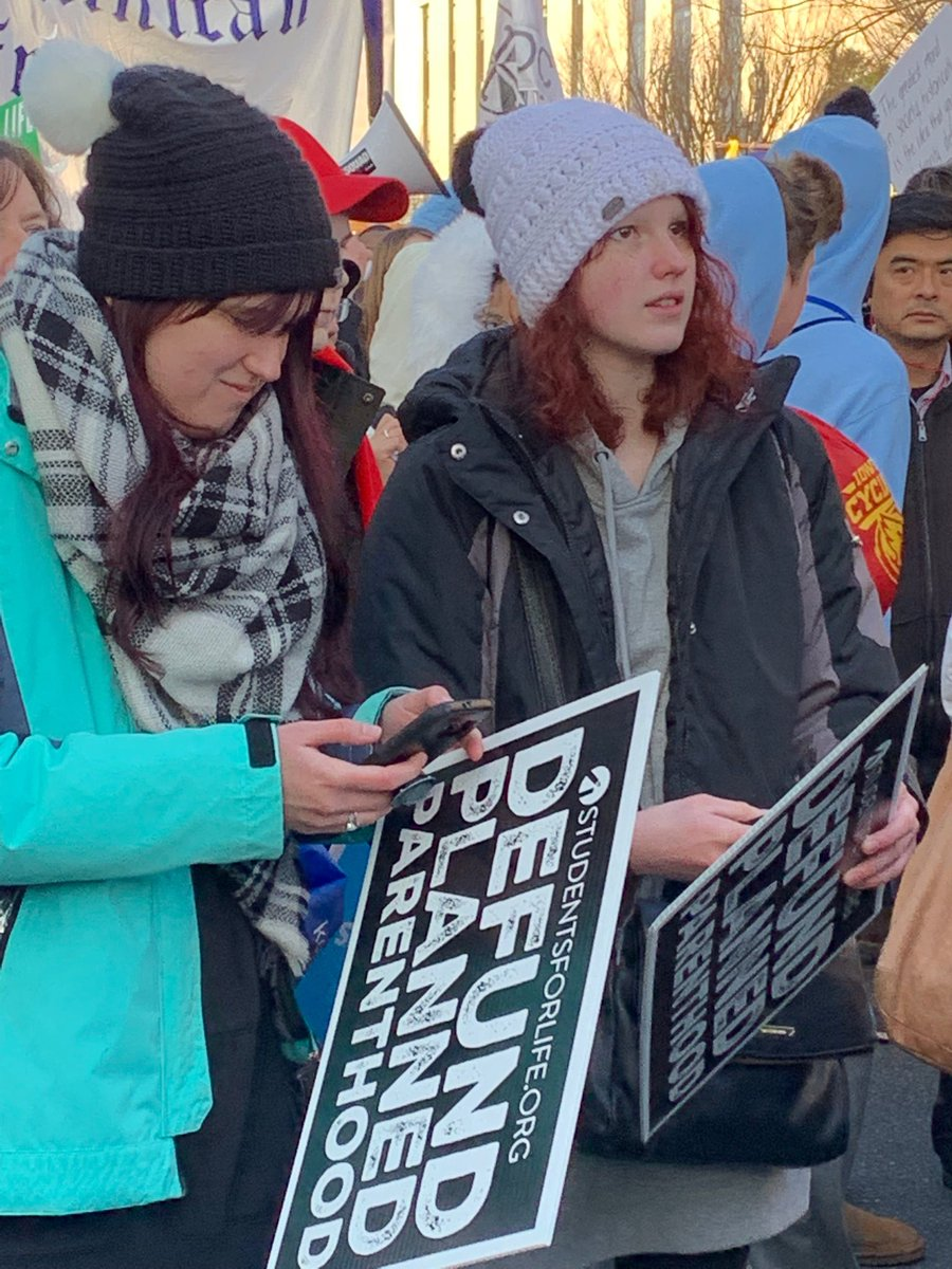I just love all the young faces @March_for_Life #WhyWeMarch #prolifegeneration