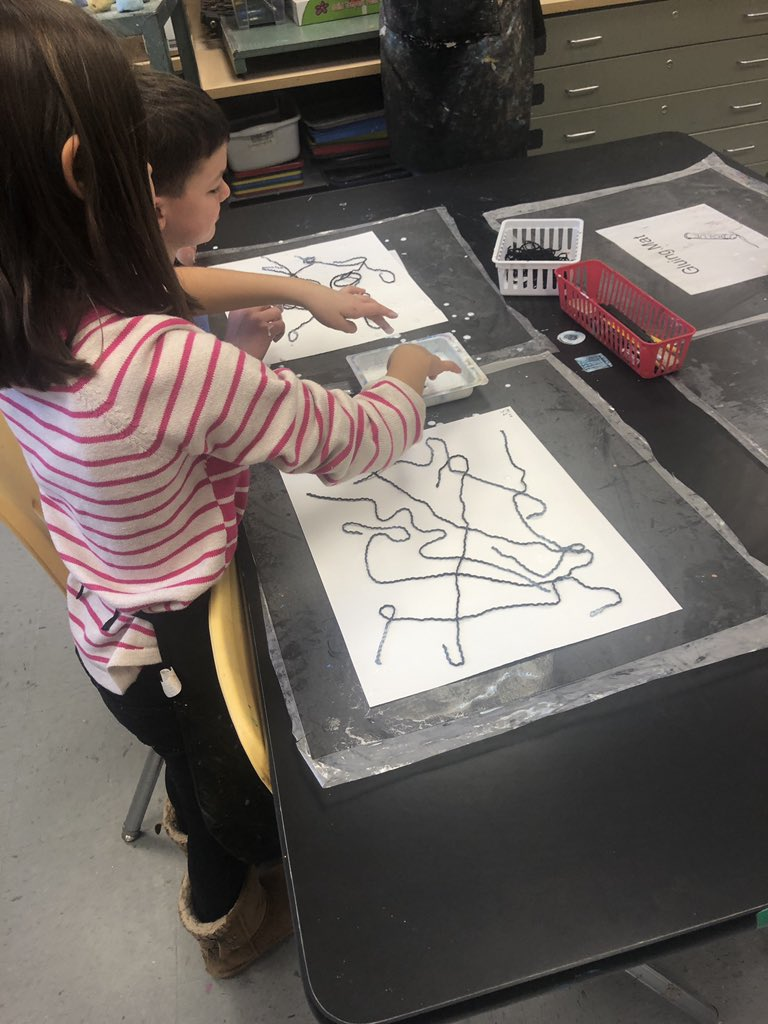 Our talented students in Ms. Clark's class were making intuitive  collages based on the work of artist Jean ARP. Looking forward to seeing their artwork when it's completed. <a target='_blank' href='http://twitter.com/McCarthyM_JES'>@McCarthyM_JES</a> <a target='_blank' href='http://twitter.com/JamestownESPTA'>@JamestownESPTA</a> <a target='_blank' href='http://twitter.com/APSarta'>@APSarta</a> <a target='_blank' href='https://t.co/hMaJ1LcVUf'>https://t.co/hMaJ1LcVUf</a>
