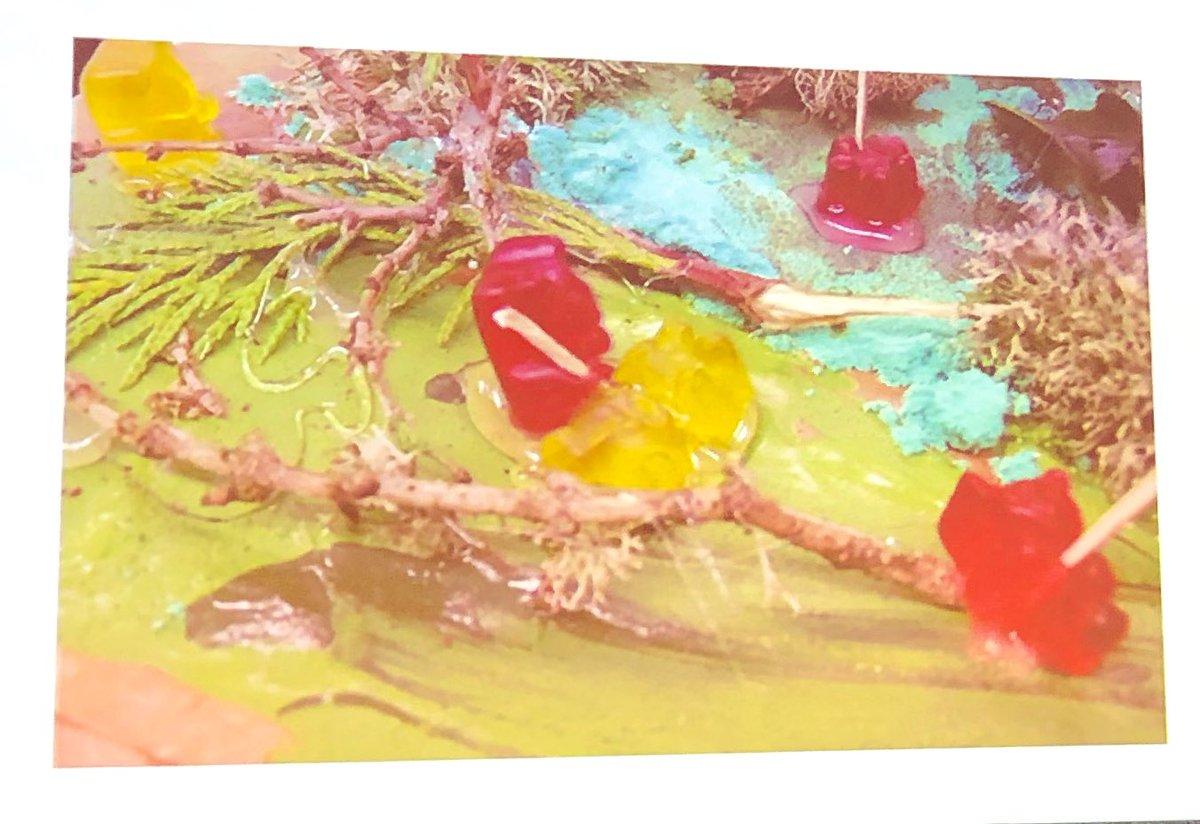 Tribal warfare between gummy bears. @iste @cueinc #ISTEDLS #WeAreCue @cuerockstar