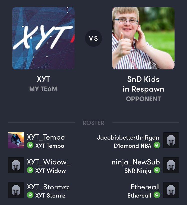 Next game.. #XYT