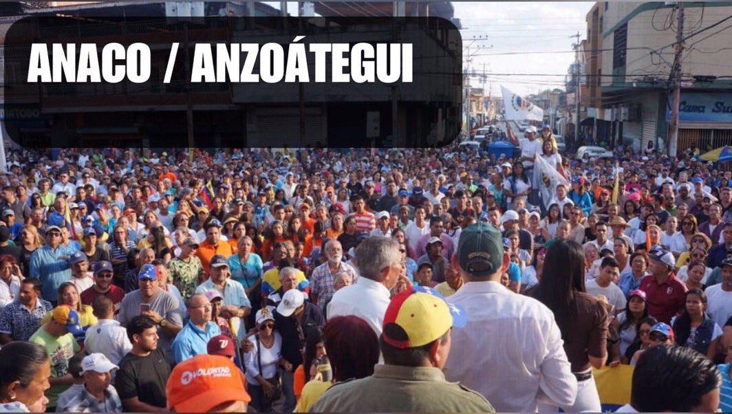 Cabildo Abierto en Anaco.