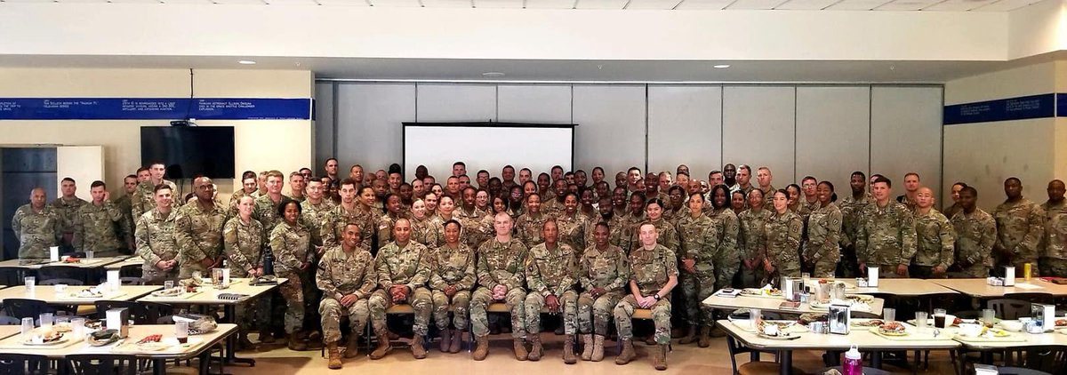 Over 100 Army leaders gather to honor Dr. Martin Luther King Jr. and reflect on his warrior spirit. https://t.co/BAu3HXMwLw