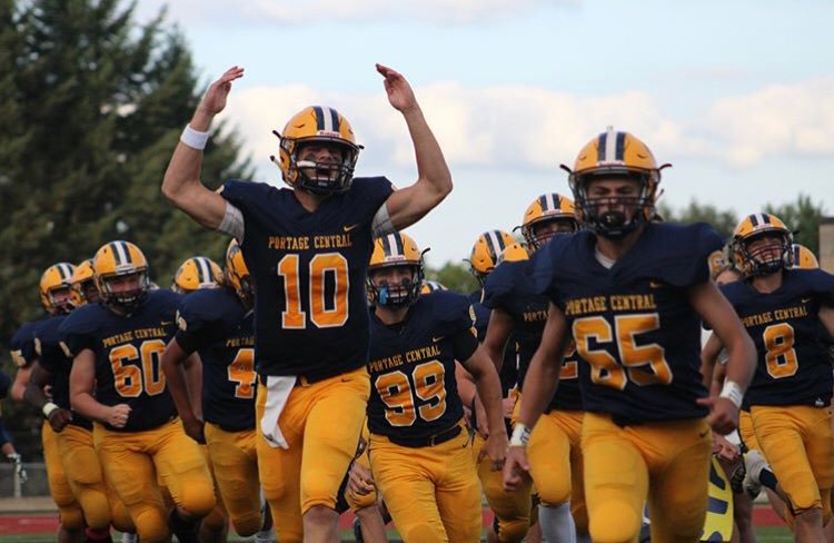 The D Zone On Twitter Portage Central 2019 Qb Carter Highhouse Was
