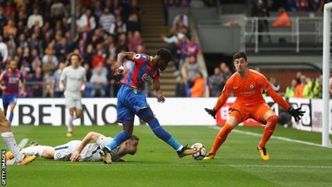 Palace ยิงประตูในเกมพรีเมียร์ลีกไม่ได้ใน 6 จาก 7 เกมหลังสุดที่พบกับทีมนำของตาราง มีเพียงเกมเดียวที่พวกเขายิงประตูได้คือที่ชนะ Chelsea 2-1 เมื่อเมษายน 2017 #lfcthai