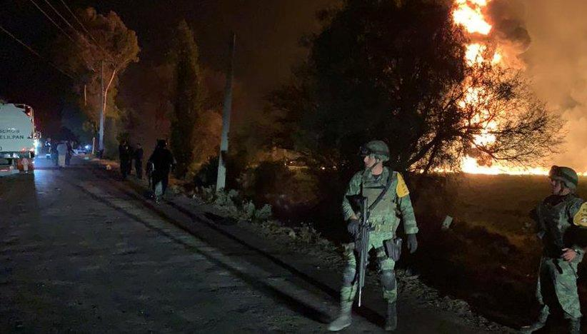 Mexican pipeline explosion kills at least 20 https://reut.rs/2U2fNP5