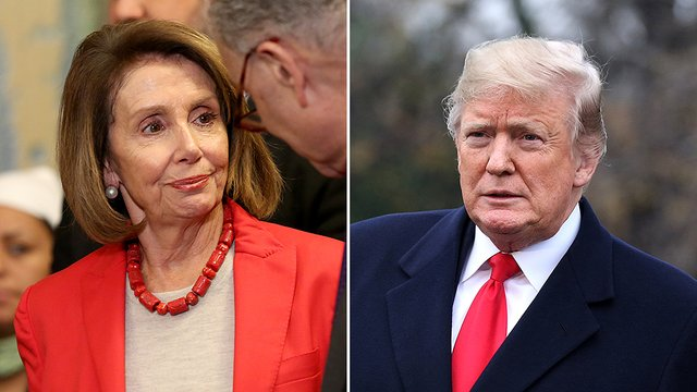 Poll: Voters in Georgia, a GOP-leaning state, view Pelosi more favorably than Trump  http:// hill.cm/0Jyn9vF  &nbsp;   <br>http://pic.twitter.com/t4Gma6o1Yp