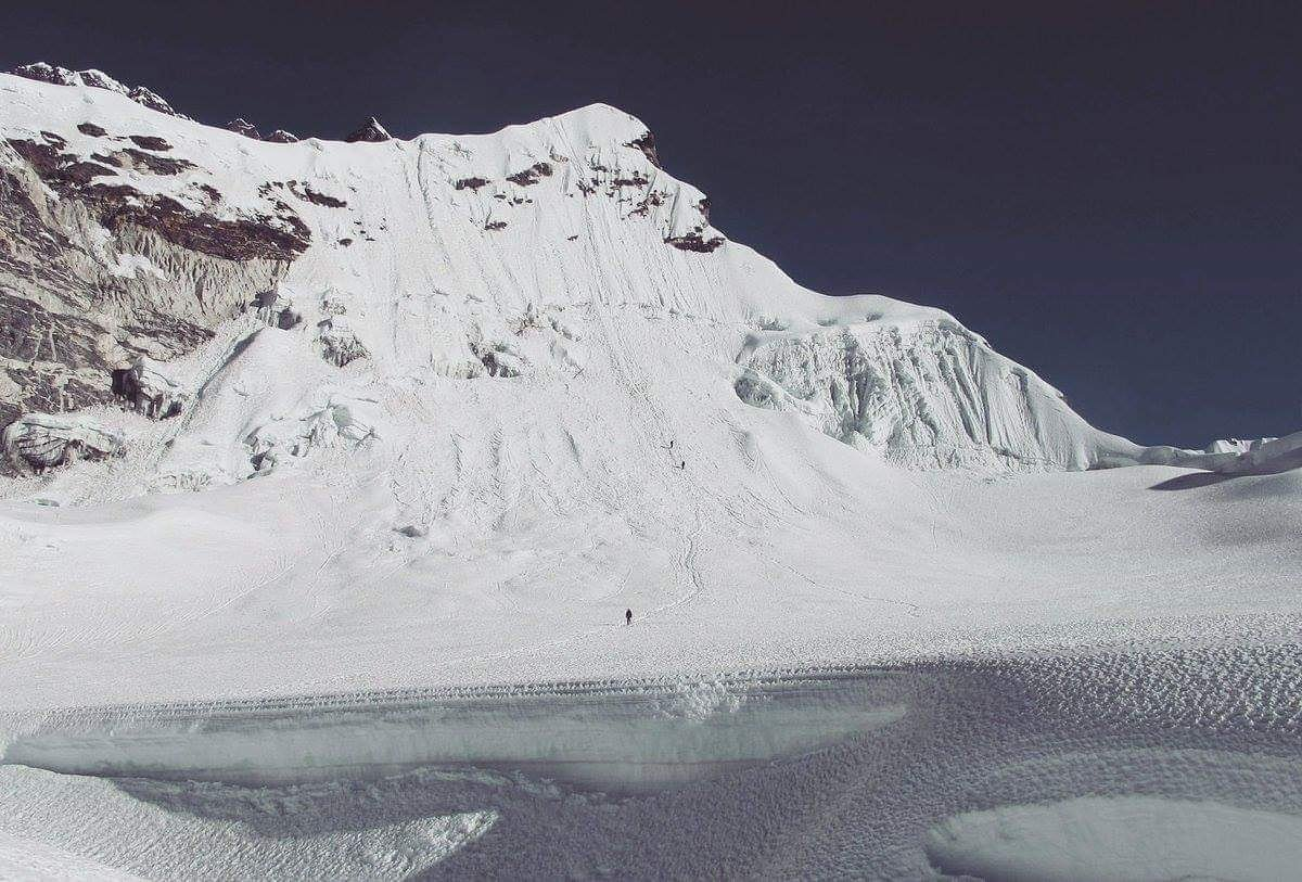 Island Peak 6189 m is probably the most popular #TrekkingPeak in Nepal with 2817 #Climbing Permits issued in 2017 as per #Nepal Tourist Statistics 2017.  #Experience yourself why this climb is so popular?  #IslandPeak #ImjaTse #Himalaya #Sherpa #SaturdayMotivation #VisitNepal