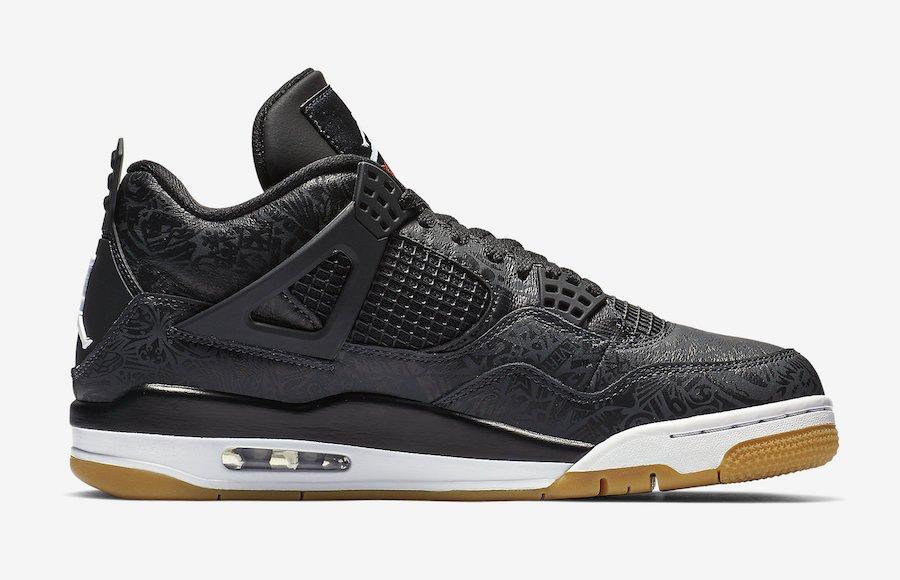 b6e1071a83c14d Release Date  The Air Jordan 4 Laser SE  Black Gum  will be available via   footlocker today at 10AM EST!