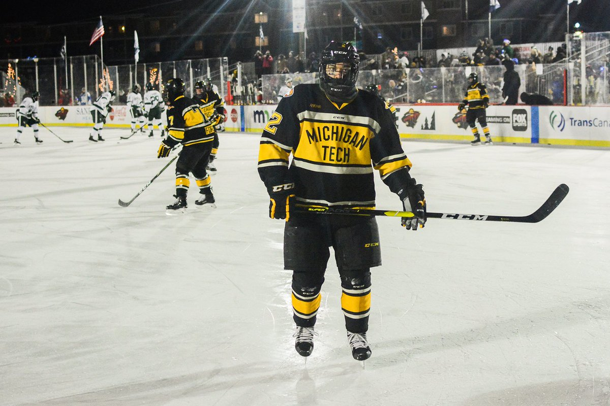 Image result for michigan tech hockey