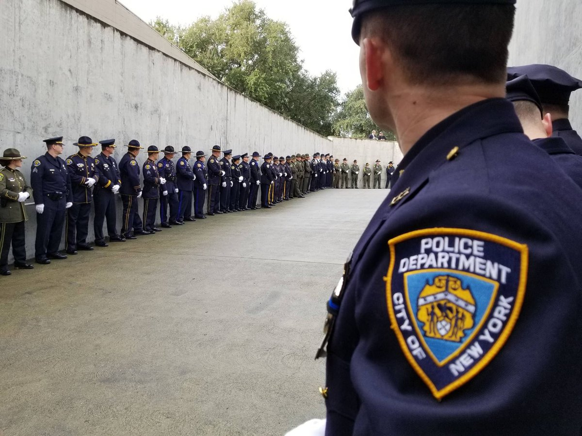 Today #NYPD stands with @cityofdavispd to honor Hero Officer Natalie Corona. RIP Natalie, we'll take it from here. <br>http://pic.twitter.com/aD2JBhTQAL