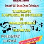 #EscuelasAbiertas2019 Twitter Photo