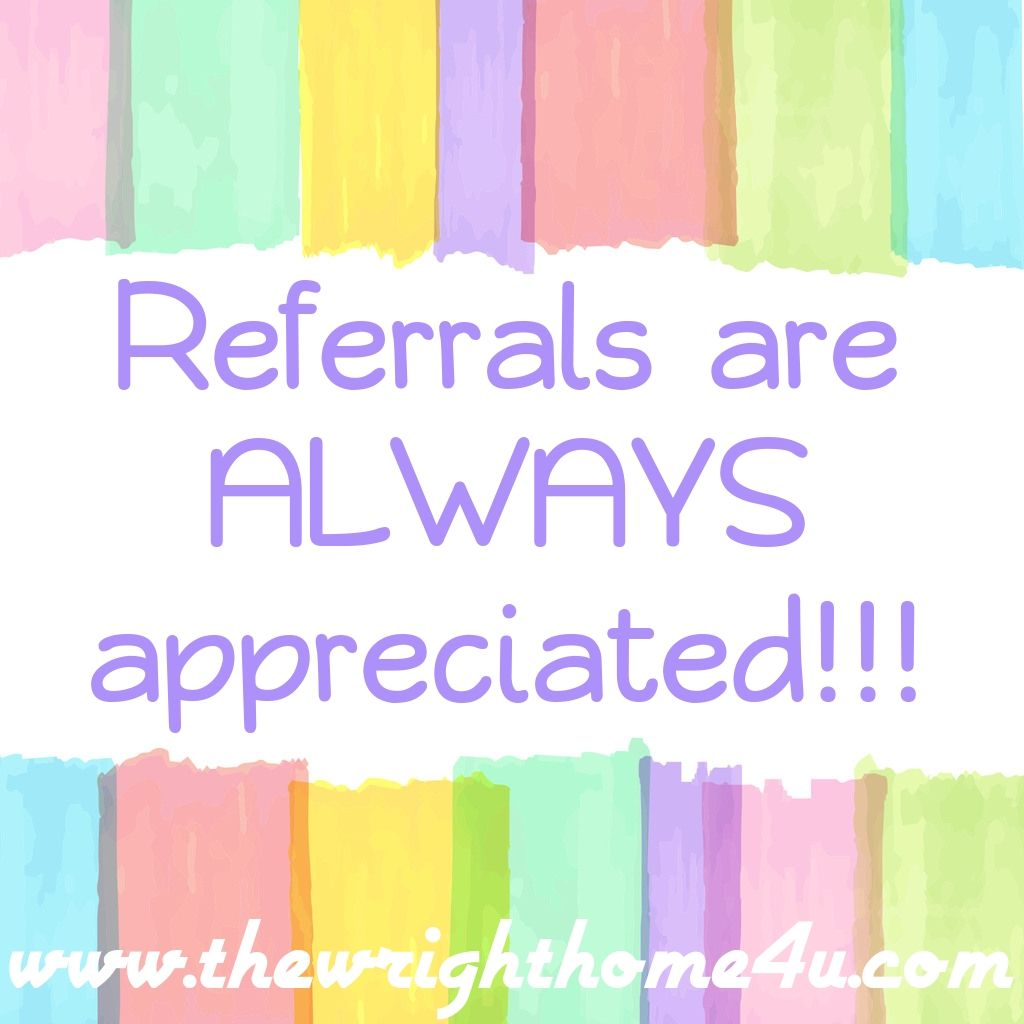 Referrals are always the best gift to give your realtor!  Go to www.thewrighthome4u.com today!!!