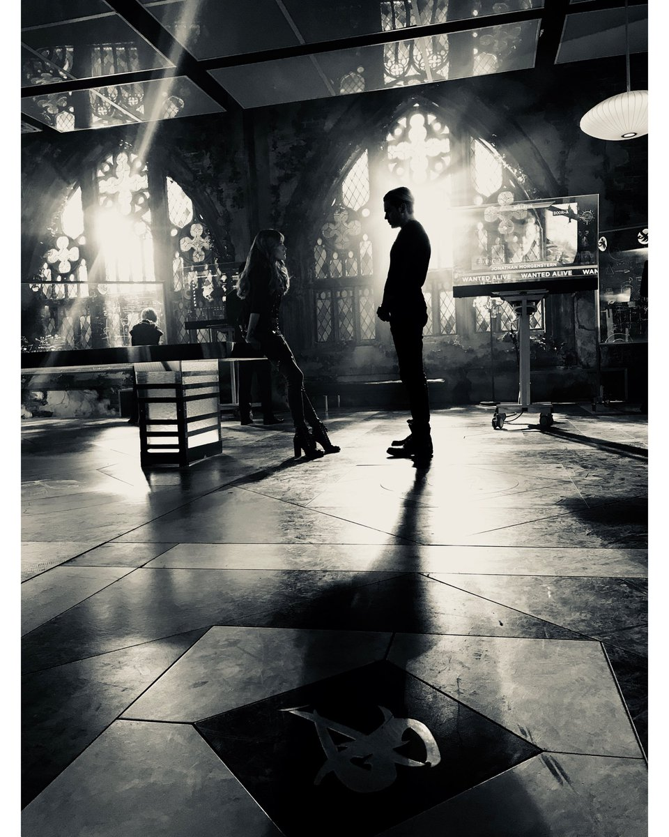 Nothing is ever black and white in the Shadow World. Are you ready, for 3B? Expect the unexpected, angels. #shadowhunterslegacy @ShadowhuntersTV @DomSherwood1