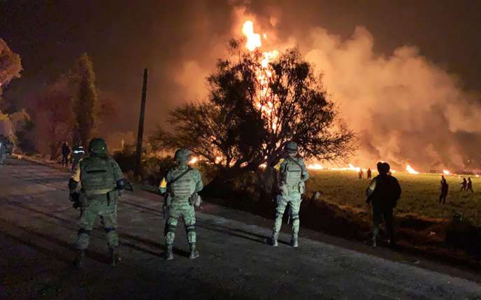 Mexique: l'explosion d'un oléoduc fait au moins 20 morts et 71 blessés https://t.co/5ilSoVEmIR
