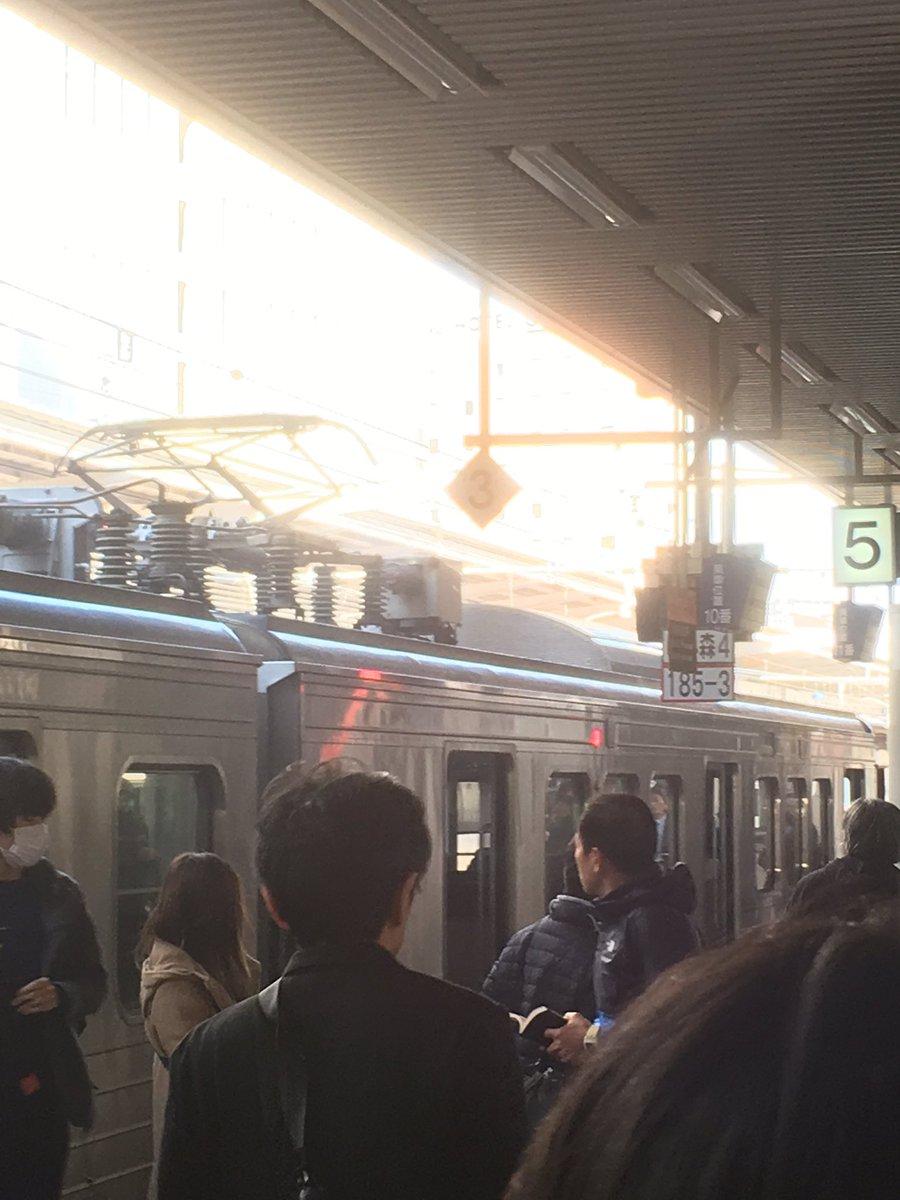 鹿児島本線の博多駅で爆発トラブルが起きた現場画像