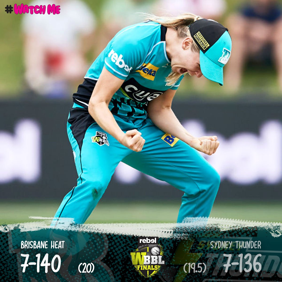 THE HEAT ARE IN THE FINAL! 🔥🔥🔥 WHAT A FINISH! #WBBLFinal