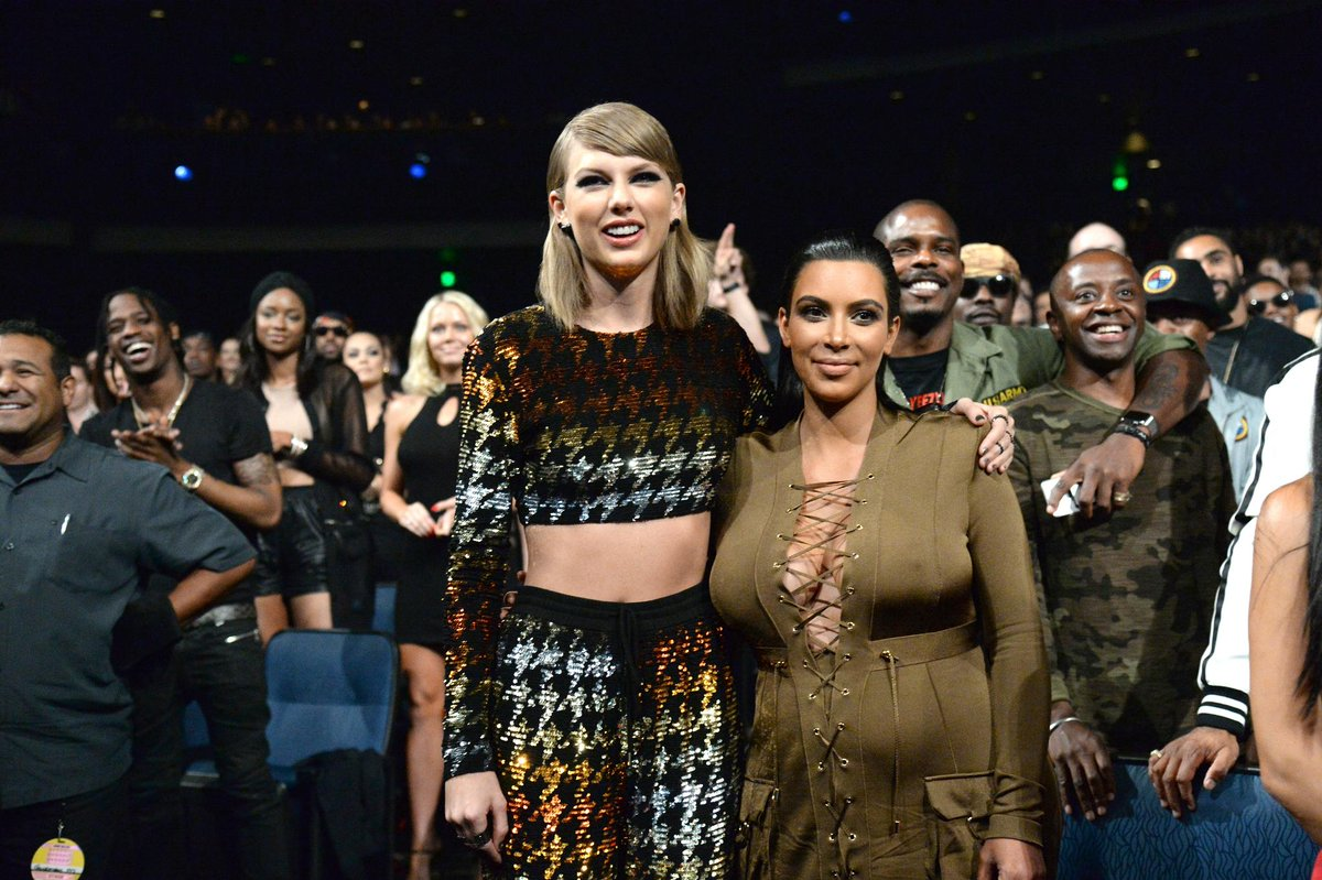 #Watch as @KimKardashian proves she is over her feud with @taylorswift13  https://t.co/PyL8kDT68f