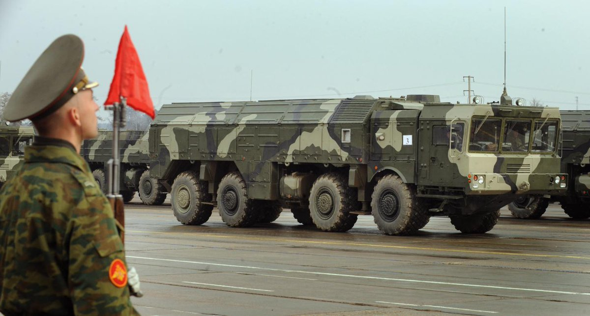 Russia deploys nuclear missiles close to Ukraine border: Reports https://t.co/2kdpjjbZs3