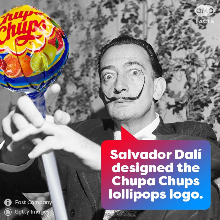 Salvador Dalí was expelled from art school twice; once in 1923 for participating in a student protest and again in 1926 right before his exams. He never graduated.