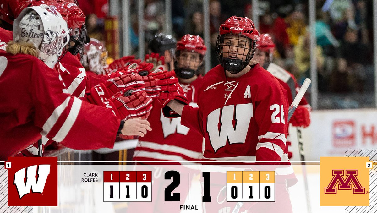 Wisconsin Hockey's photo on #Badgers