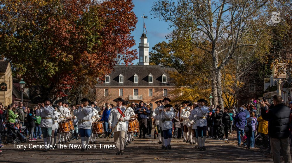 52 Places to Go in 2019, No. 12: Williamsburg, Virginia. The cradle of American democracy reflects on its past. https://nyti.ms/2Dc3n1I